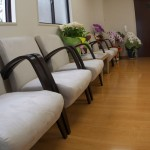 あじさい歯科の待合室