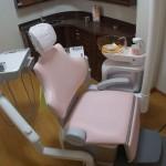 あじさい歯科の診察台